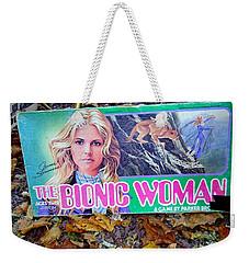 The Bionic Woman Weekender Tote Bag