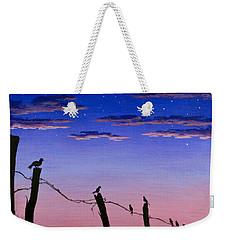 The Birds - Morning Has Broken Weekender Tote Bag by Jack Malloch