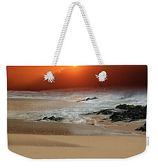 The Birth Of The Island Weekender Tote Bag