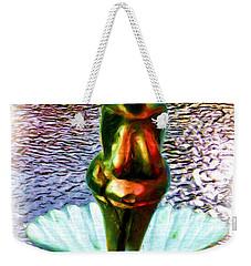 Weekender Tote Bag featuring the digital art The Birth Of Vestonice Venus by Daniel Janda