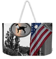 The Black Dog Store Weekender Tote Bag