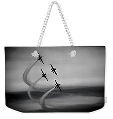The Blades In Formation Sunderland Air Show 2014 Weekender Tote Bag