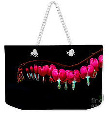 The Bleeding Heart Weekender Tote Bag