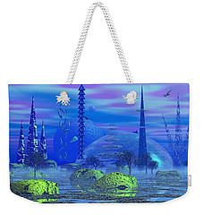 Weekender Tote Bag featuring the photograph The Blerbler Of Bloinblong by Mark Blauhoefer