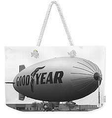 The Goodyear Blimp In 1979 Weekender Tote Bag