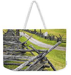 The Bloody Lane At Antietam Weekender Tote Bag