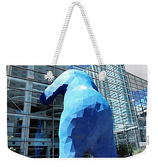 The Blue Bear Weekender Tote Bag