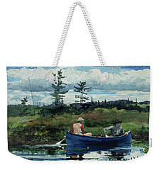 The Blue Boat Weekender Tote Bag