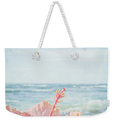 Weekender Tote Bag featuring the photograph The Blue Dawn by Sharon Mau