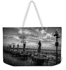 The Boardwalk Weekender Tote Bag by Linda Unger
