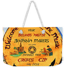 The Bodhran Makers Weekender Tote Bag