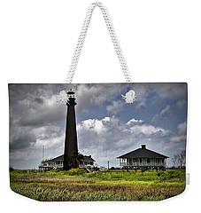 The Bolivar Lighthouse Weekender Tote Bag by Linda Unger