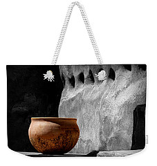 Weekender Tote Bag featuring the photograph The Bowl by Lucinda Walter