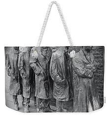 The Breadline Bw - Fdr Memorial Weekender Tote Bag