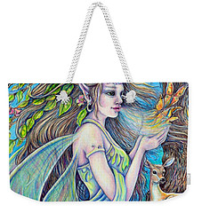 The Breath Of Spring Weekender Tote Bag