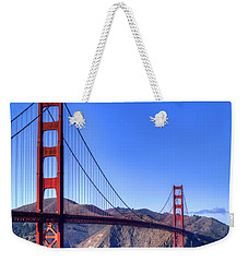 The Bridge Weekender Tote Bag by Bill Gallagher