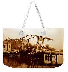 The Bridge Weekender Tote Bag by Menachem Ganon