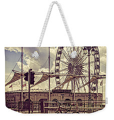 Weekender Tote Bag featuring the photograph The Brighton Wheel by Chris Lord