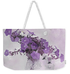 The Broken Branch - Digital Watercolor Weekender Tote Bag by Sandra Foster