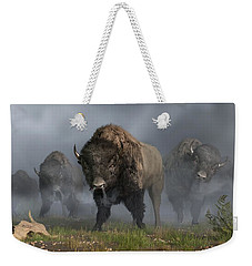 The Buffalo Vanguard Weekender Tote Bag