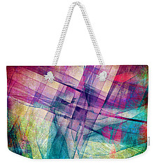 The Building Blocks Weekender Tote Bag by Angelina Vick