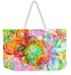 The Butterfly Dance Weekender Tote Bag