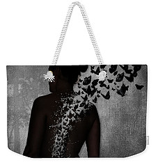 The Butterfly Transformation Weekender Tote Bag