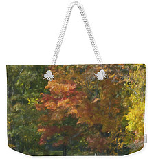 The Cabin At Cherry Brook Weekender Tote Bag