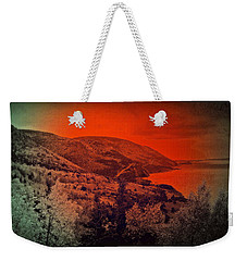 The Cabot Trail Weekender Tote Bag by Jason Lees