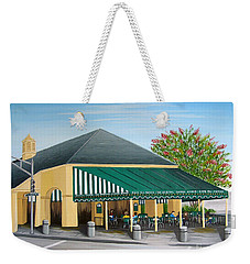 The Cafe Weekender Tote Bag