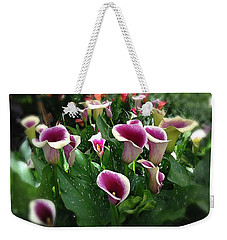 The Calla Lilies Are In Bloom Again Weekender Tote Bag