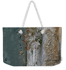 Weekender Tote Bag featuring the photograph The Canal Water by Brenda Brown