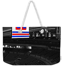 The Captain Looks Over Weekender Tote Bag