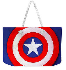 The Captain's Shield Weekender Tote Bag
