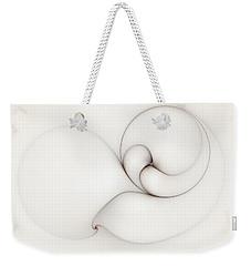 The Caress Weekender Tote Bag by Casey Kotas