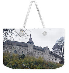 Weekender Tote Bag featuring the photograph The Castle In Autumn by Felicia Tica