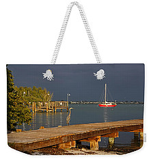 Weekender Tote Bag featuring the photograph The Casual Observer by HH Photography of Florida