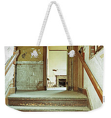 The Chair At The Top Of The Stairs Weekender Tote Bag by Holly Blunkall