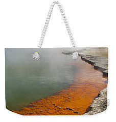 The Champagne Pool At Wai O Tapu Weekender Tote Bag