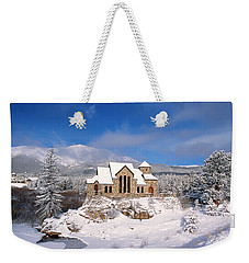 The Chapel On The Rock 3 Weekender Tote Bag by Eric Glaser