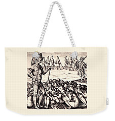 The Chieffe Applyed To By Women Weekender Tote Bag by Peter Gumaer Ogden