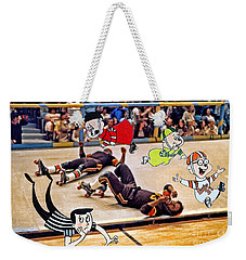 The Chipmunks Skating Roller Derby Weekender Tote Bag