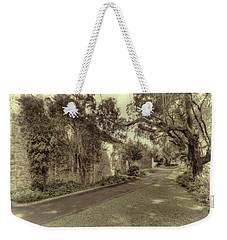 The Church Lane Weekender Tote Bag by Elaine Teague