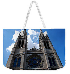 Weekender Tote Bag featuring the photograph The Church by Matt Harang