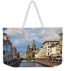 The Church Of Our Savior On Spilled Blood - St. Petersburg - Russia Weekender Tote Bag