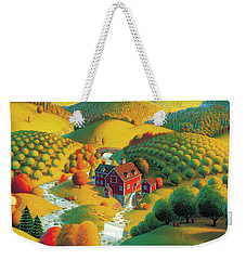 The Cider Mill Weekender Tote Bag by Robin Moline