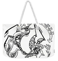 The Circle Of Life Weekender Tote Bag by Melinda Dare Benfield