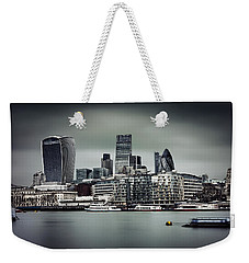 The City Of London Weekender Tote Bag by Ian Good