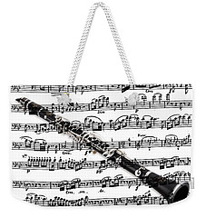 The Clarinet Weekender Tote Bag