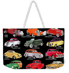 The Fords Shower Curtain Weekender Tote Bag